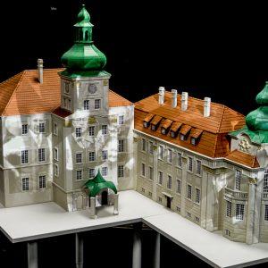 Makieta pałacu